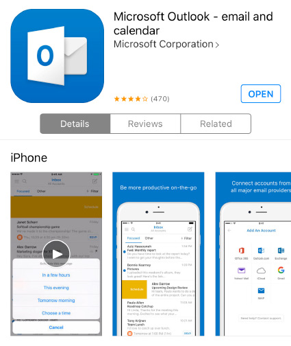 outlook app for iphone walters state help desk 15828